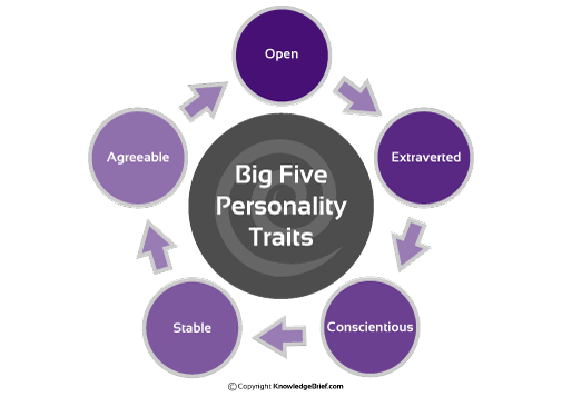 "big five personality traits theory essay The big five personality test what has become known as ""the big five personality theory"" that the traits identified in the big five can accurately."