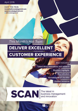 Deliver Excellent Customer Experience