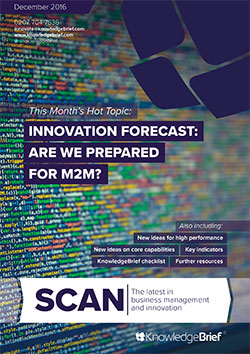 Innovation Forecast: Are we prepared for M2M?