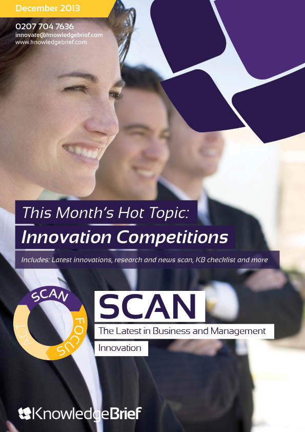 Innovation Competitions - Hot Topic