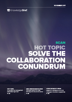 Solve the Collaboration Conundrum