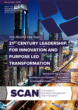 21st Century Leadership. For Innovation and Purpose Led Transformation