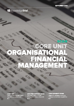 Organisational Financial Management