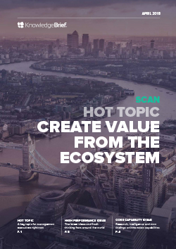 Create Value from the Ecosystem