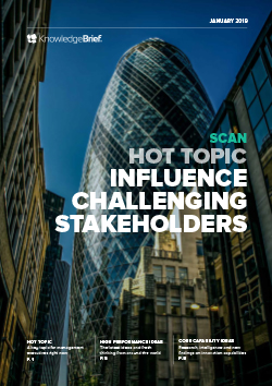 Influence Challenging Stakeholders