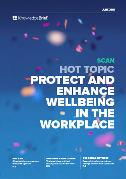 Protect and Enhance Wellbeing in the Workplace