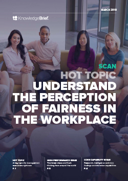 Understand the Perception of Fairness in the Workplace