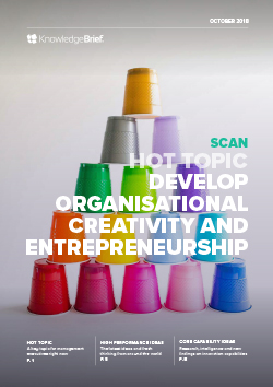Develop Organisational Creativity and Entrepreneurship