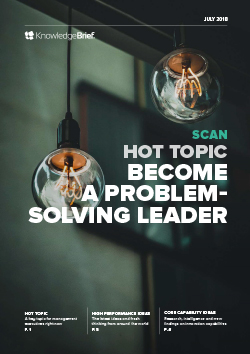 Become a Problem-Solving Leader