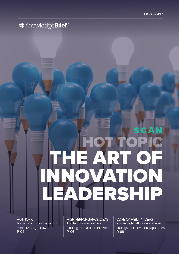 The Art of Innovation Leadership